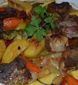 Fırında Patatesli Kuzu Pirzola Tarifi