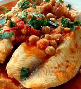 Nohutlu balık tarifi